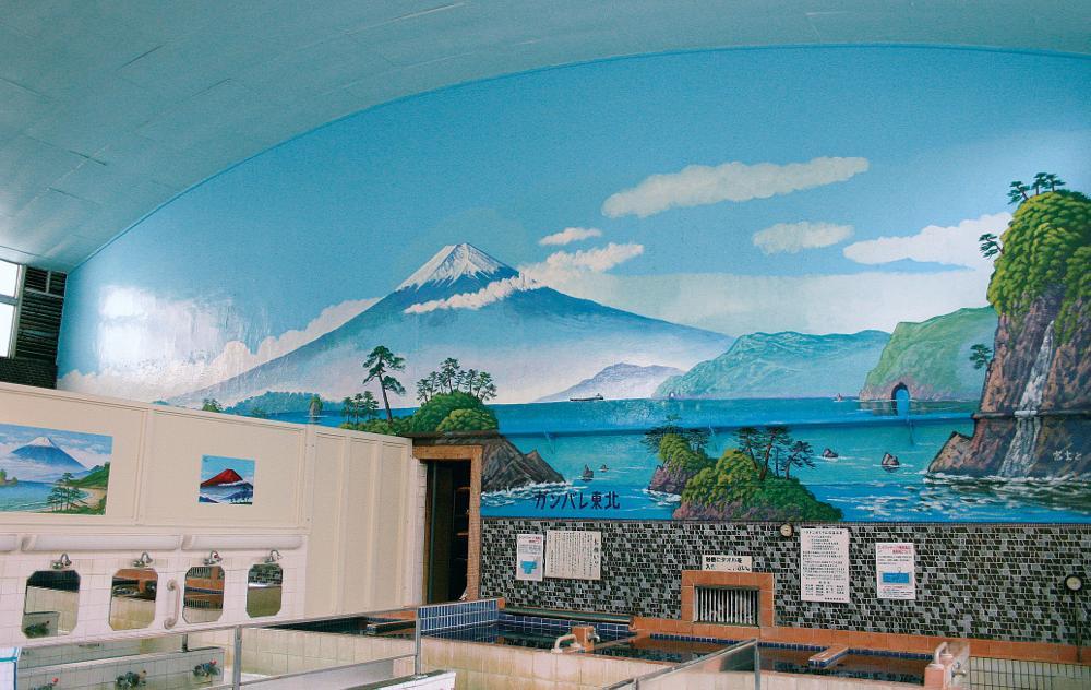 武蔵野市の吉祥寺駅から徒歩7分の場所にある銭湯『弁天湯』