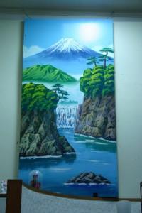 ロビーの富士山_0049